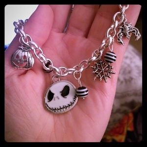 Jewelry - Nightmare Before Christmas Charm Braclet